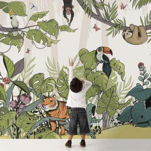 Papier peint panoramique Jungle  s V2