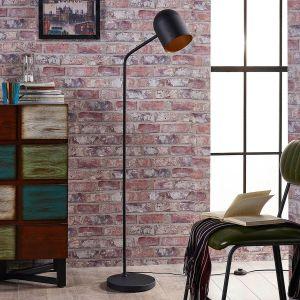 Lampadaire en métal moderne LED, Morik