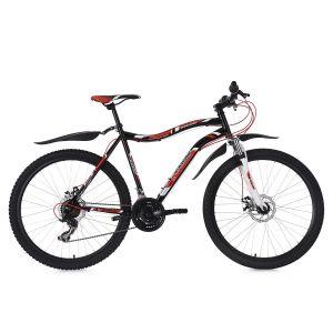 VTT semi-rigide 26'' Phalanx 21Vitesses noir-rouge-blanc TC51cm KSCycling