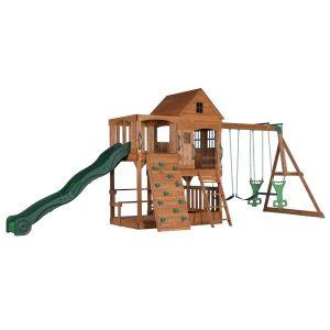 Aire de jeux en bois enfant Hill Crest