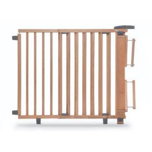 Barrière de sécurité plus pour escalier 95-135 cm en bois blanc GEUTHER