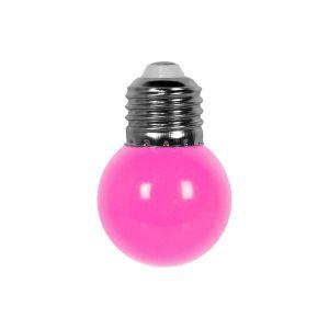 Ampoule Guirlande Guinguette Led E27 Couleur Rose