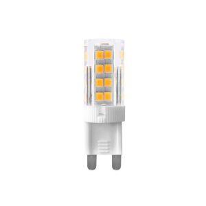 Petite Ampoule LED G9 3 W Blanc chaud rendu 30 W