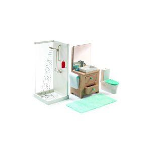 Accessoire maison de poupées : La salle de bain