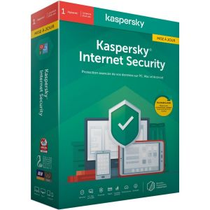Logiciel antivirus et optimisation  Internet Security 2020 MAJ (1 P / 1 AN )
