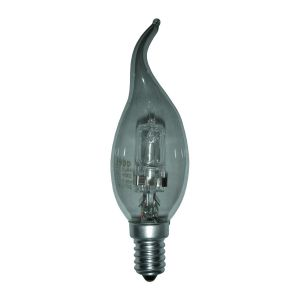 Ampoule halogène Flamme de bougie E14 - 28W