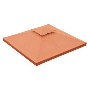 Toile pour tonnelle 3 x 3 m orange