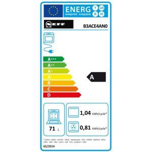 four intégrable 71l 60cm a ecoclean inox - b3ace4an0