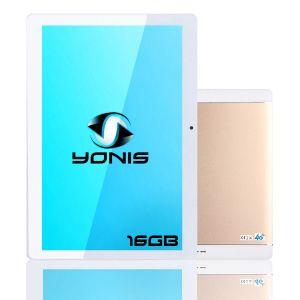 Tablette 10 Pouces 4g Android 7.0 Wifi Quad Core 1.3 Ghz Dual Sim 2gb+16gb
