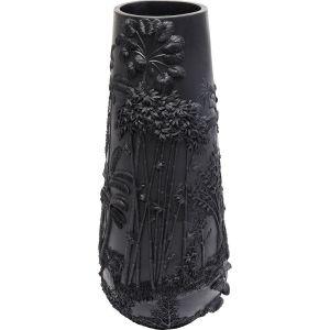 Vase Jungle noir 83cm