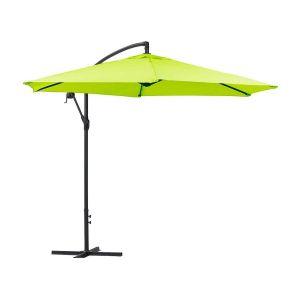 """Parasol jardin déporté Alu """"Ilios"""" - Rond - Ø 3 m"""