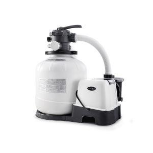 Combiné groupe de filtration à sable 8 m³/h + stérilisateur au sel + système OEC