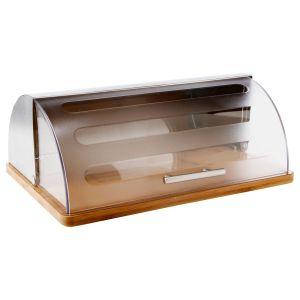 Boîte à pain avec base bambou