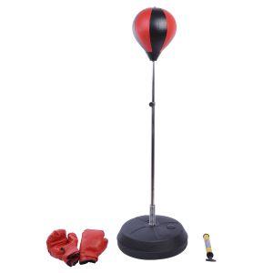 Punching ball sac de frappe rouge noir