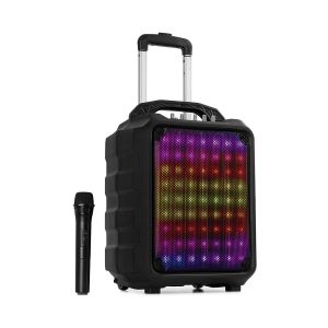 """Moving 80.1 Led Système Sono Portable Woofer 8"""" Micro Uhf Usb Sd Bt Aux 100"""