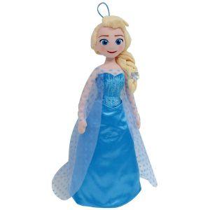 Peluche Housse pyjama Elsa La Reine des Neiges 53 cm