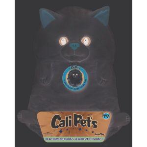 Peluche Cali Pets : Chat persan Neige