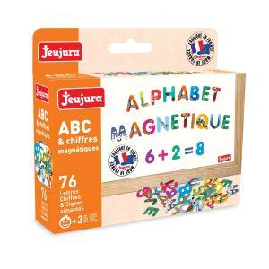 Lettres ABC et chiffres magnétiques