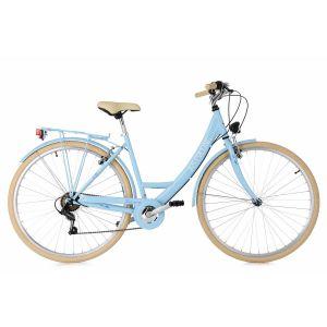Vélo de ville Dame 26'' Toscana 6 vitesses blanc TC 41 cm