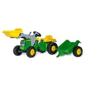 Rolly Toys 023110 rollyKid John Deere pell Lader avec remorque
