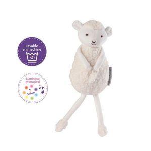 Siméon le Mouton - Peluche lumineuse et musicale lavable en machine