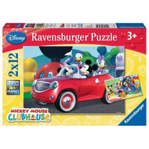 Puzzles 2x12 p - mickey, minnie et leurs amis / disney