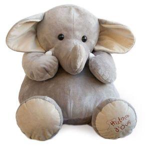 Peluche Éléphant 60 cm