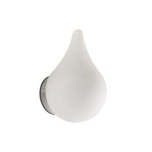 Applique Salle de Bain LED Classe 2 blanche Perle de Pluie