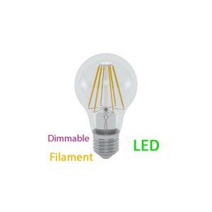 Ampoule DECO LED E27 10 W Filament dimmable rendu 100 W Blanc chaud