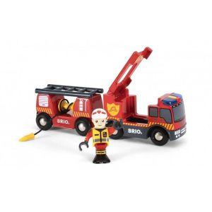 Brio world  - 33811 - camion de pompiers son et lumiere
