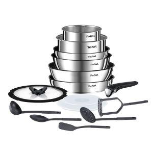 Batterie de cuisine 15 pièces Ingénio Émotion