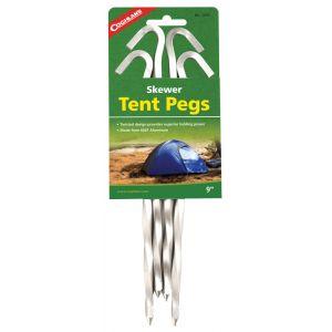 Coghlans Tent Pegs Aluminium Twisted 1 pièces Sardine et piquet