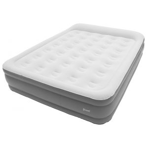 Outwell Flock Superior Double - Lit - with built-in Pump gris/blanc Lits gonflables
