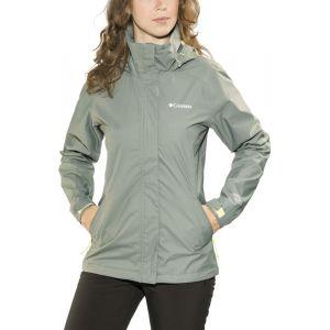Columbia Trestle Trail Veste à capuche Femme, sedona sage XL Vestes de pluie