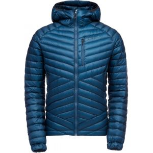 Black Diamond Approach Manteau à capuche Duvet Homme, astral blue L Vestes escalade