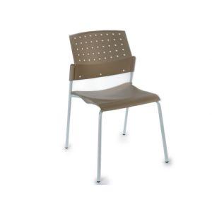 chaise tube acier gris comparer 119 offres. Black Bedroom Furniture Sets. Home Design Ideas