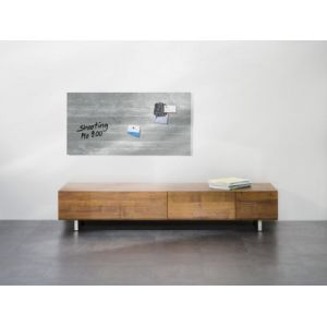 Tableau magnétique en verre ARTIST Beton