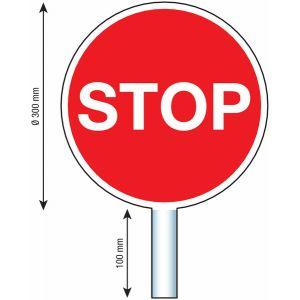 Panneau de signalisation d'aide au trafic - Stop