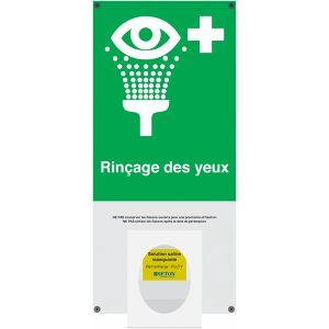 Station de lavage oculaire avec pictogramme
