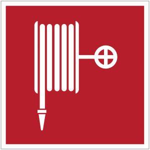 """Mini-pictogrammes d'incendie """"Robinet d'incendie armé"""" en rouleau"""