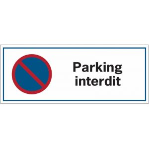 Panneau Parking interdit