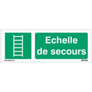 Panneaux ISO 7010 horizontaux Echelle de secours - E059