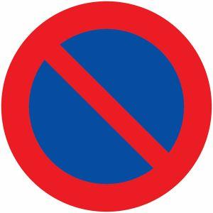 Panneau anti-graffiti Stationnement interdit