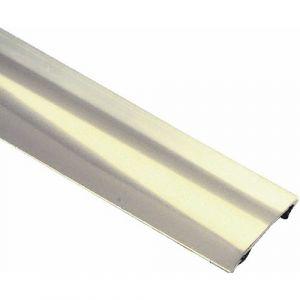 Barre de seuil adhésif - inox 11/10e - longueur 93 cm - largeur 30 mm DINAC