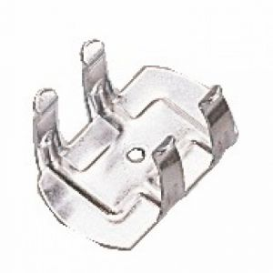 Clip de fixation en métal 202-vis 4 mm-25 pièces CAMAR