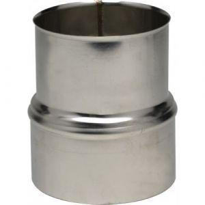 Réduction inox pour tubage flexible - femelle 206 mm - mâle 180 mm TEN