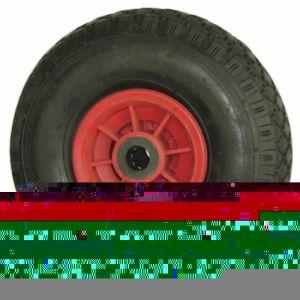 Roue polypropylène noir - bandage pneumatique - diamètre 400 mm TENTE