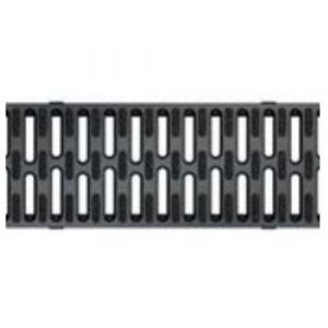 Caniveaux avec grilles passerelles - sans pentes - Hexaline 100 / Migrogrip composite ACO PASSAVANT