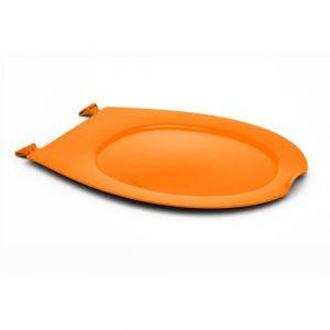 Abattant WC clipsable - 100% hygiénique - orange PAPADO