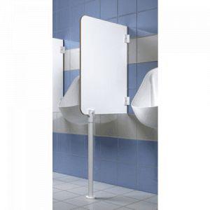 Pied pour écran d' urinoir Sanitec - hauteur 60 cm SANITEC